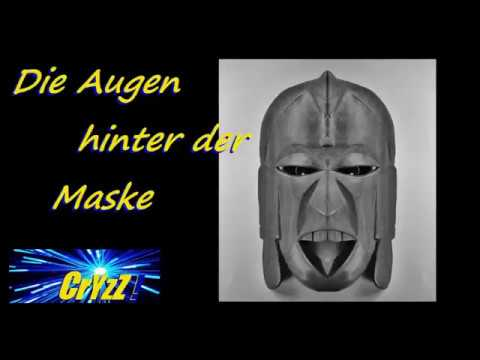 Die Maske für die gefaltete Gesichtshaut