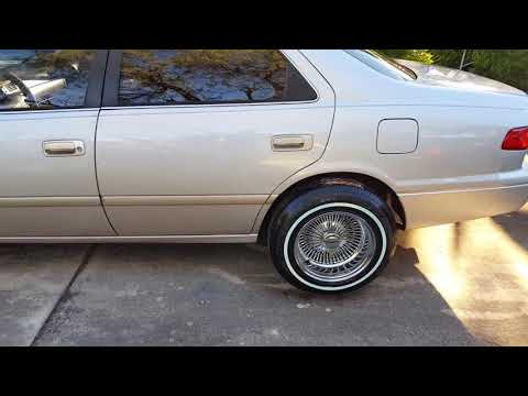 2001 Toyota Camry On 14inch Wire Wheels Mp3