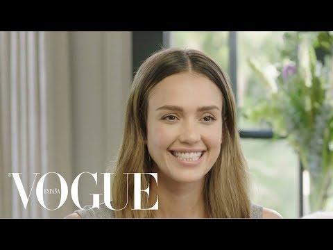 La Actriz Jessica Alba Muestra Sus Consejos De Maquillaje