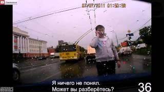 Аварии и ДТП на видеорегистратор 2014