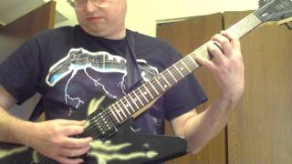 "Ace Frehley ""Speedin Back to My Baby"" Guitar cover."