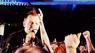 Leftöver Crack - Atheist Anthem & Fucked Reality (Choking Victim cover) - Live at Rebellion 2014