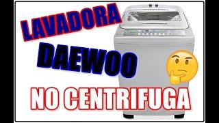 LAVADORA DAEWOO - NO CENTRIFUGA