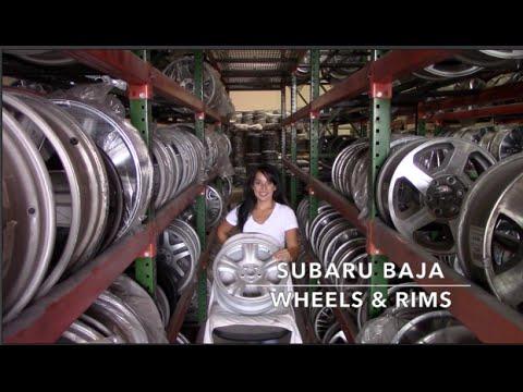 Factory Original Subaru Baja Rims & OEM Subaru Baja Wheels – OriginalWheel.com