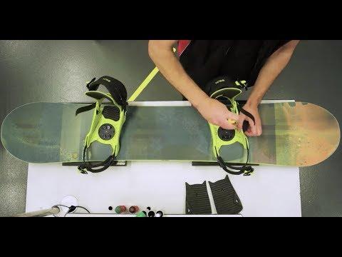 SportXX-Tipp: Snowboardbindung einstellen