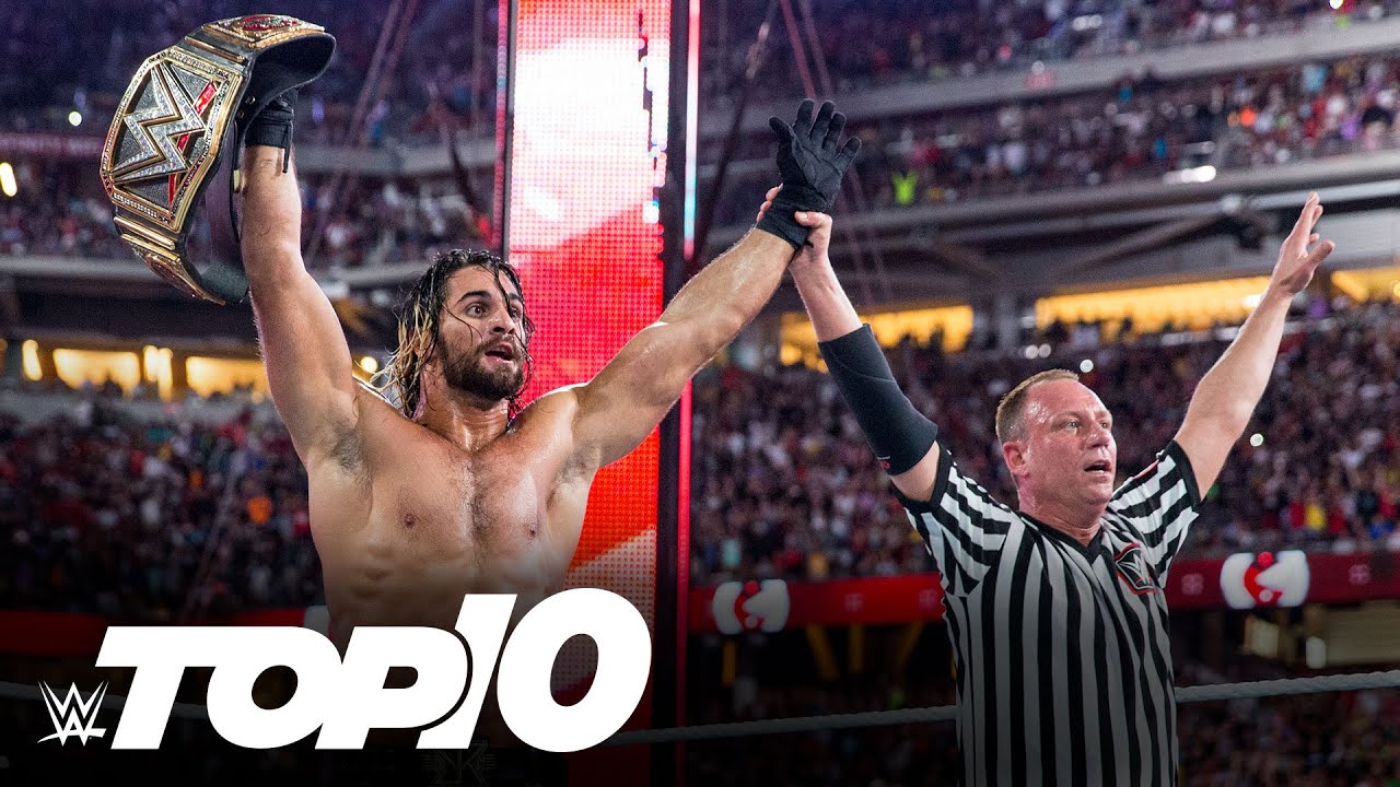 Top 10 Most Stunning WrestleMania Moments