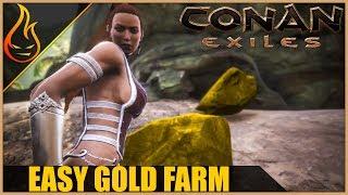 Easy Gold Farm Conan Exiles 2018 Beginner Tips