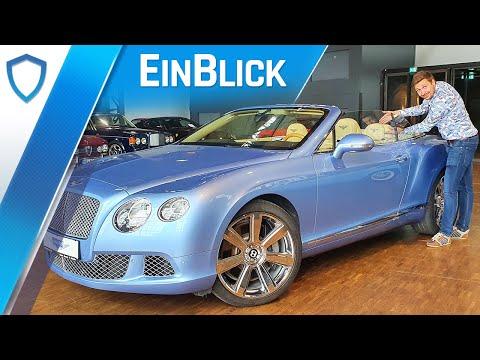 Bentley Continental GTC W12 (2011) - Die Endstufe des Cabriolets? | Test & Review