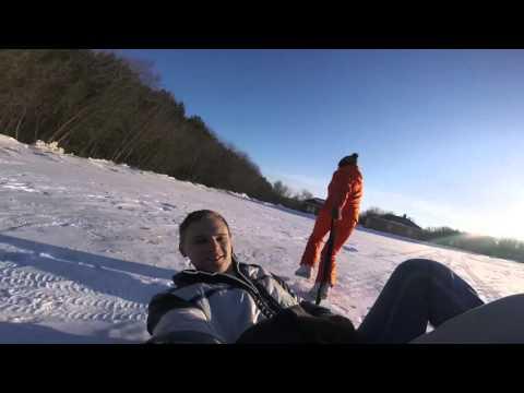 Видео: Видео горнолыжного курорта Кукмор в Татарстан