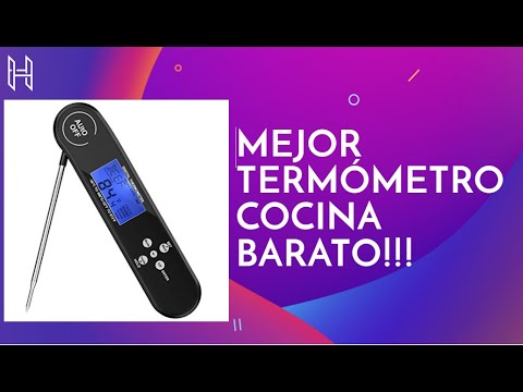 MEJOR TERMOMETRO DIGITAL (CHOLLAZO)✅✅✅ ►Guaiboshi Termómetro Digital de Cocina Impermeable Review.