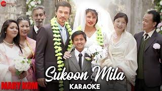 Sukoon Mila Karaoke + Lyrics (Instrumental)   Mary Kom   Priyanka & Darshan Gandas   Arijit Singh