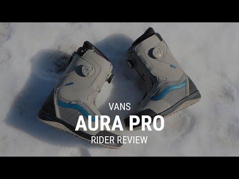 Vans Aura Pro 2019 Snowboard Boot Review - Tactics.com