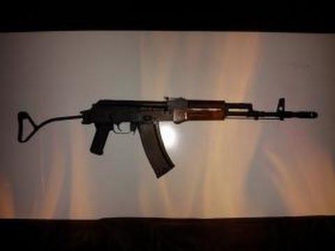 Original Romanian AK47 Wire Folding Stock Install - смотреть онлайн