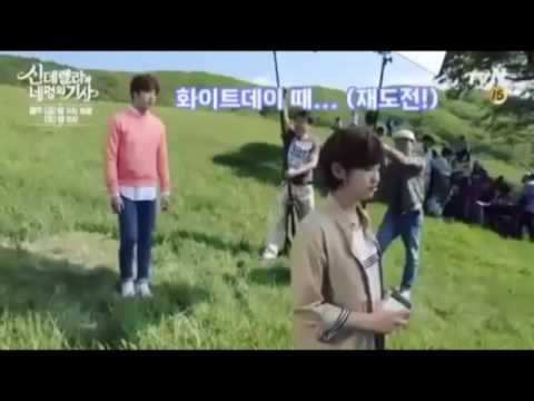 Behind The Scenes Cinderella and Four Knights P.3