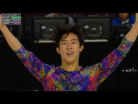 Nathan CHEN - FS & Interview - 2019 GPS America - Skate America - ネイサン・チェン