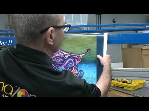 Canvas Printing Orlando - Easiest Way to Stretch a Canvas