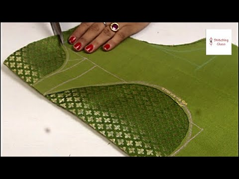 New Model blouse design cutting and stitching | Saree Blouse designs | Neck design for blouse