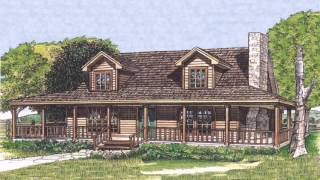 Country Style House Plans With Wrap Around Porches (see Description) (see Description)