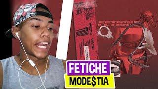 MODE$TIA   Fetiche [Lyric Video] (Prod. Kizzy)   REACT TRANKS