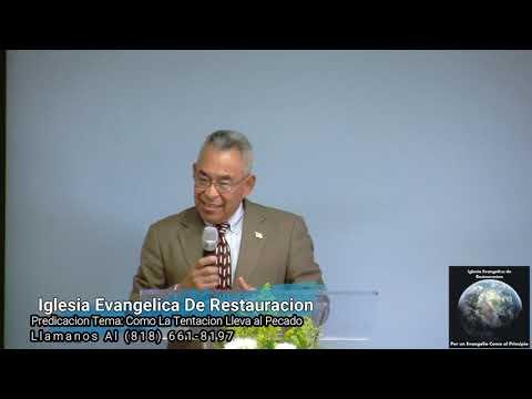 Predicacion Tema: COMO LA TENTACIÓN LLEVA AL PECADO 10/20/19