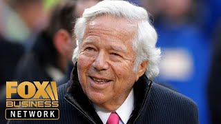 Patriots' Robert Kraft charged for solicitation