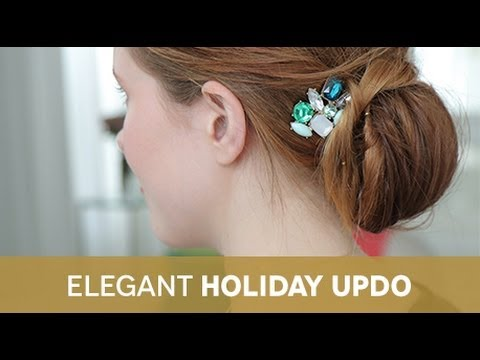 Holiday Beauty From Birchbox + InStyle: How to Create an Elegant Holiday Updo