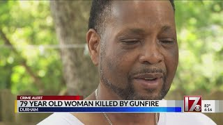 Friend talks about woman who died in Durham 'celebratory gunfire' on July 4th