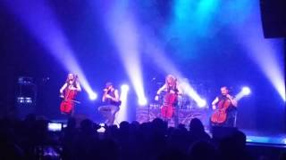 Apocalyptica performs Dead Man's Eyes