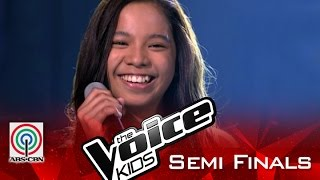 "The Voice Kids Philippines 2015 Semi Finals Performance: ""If I Were A Boy"" by Sassa"