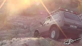 Нива на песке / LADA 4х4
