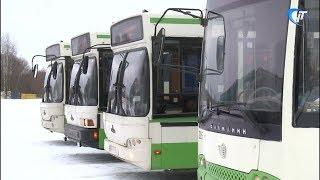 Состоялась презентация автобусов, поступивших в новгородский автобусный парк из Москвы