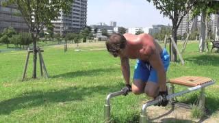 Parallel Bars - Lower Back Strength Training For Injured Backs