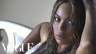 BEYONCE, Beyoncé Made a Video at the September Issue Cover Shoot