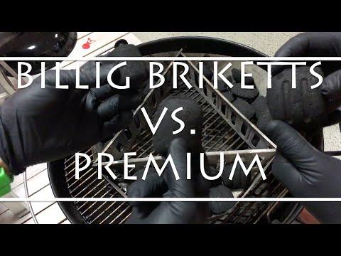 Billig Grillbriketts oder doch Premium?