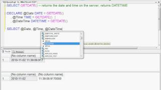 Overview of SQL Server Data Types: Date and Time