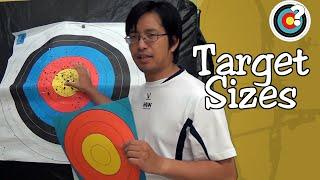 Archery | Target Sizes