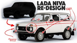 Lada Niva Re-design - Would YOU Drive This??