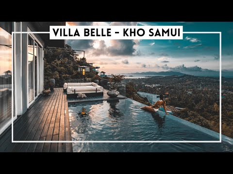 The MOST BEAUTIFUL VIEW in Koh Samui at VILLA BELLE (Thailand)