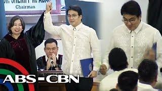 Bong Revilla Dances After Senate Victory  Anc