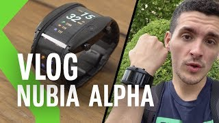 Nubia Alpha ¿smartphone flexible o un smartwatch normal? | 24H usándolo