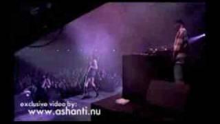 "Ashanti LEAVING WORLD TOUR 2002(germany)- ""movies"""