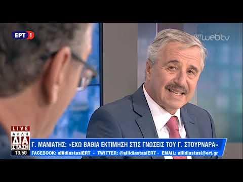 Ο Γιάννης Μανιάτης στην «Άλλη Διάσταση» | ΕΡΤ