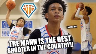 Tre Mann is the BEST PURE SHOOTER in the COUNTRY.. Don't @ Me!! | Pangos Full Highlights