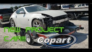 Rebuilding a wrecked nissan 370z touring