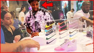 Dion Creates CUSTOM Nike Shoes With Denzel Ward! - Daily Dose 2.5 (Ep.57)