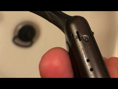 Apple Watch 3 Series Ejecting Water