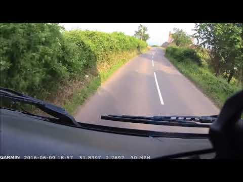 A day on the road of a removal lorry driver