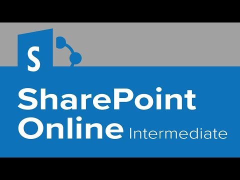 SharePoint Online Intermediate