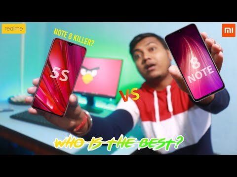 The Best Smartphone under 10,000 Rupees🔥realme 5s Vs Redmi Note 8