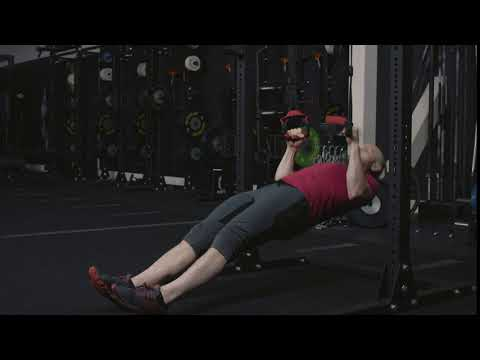 Inverted Row on Suspension Trainer
